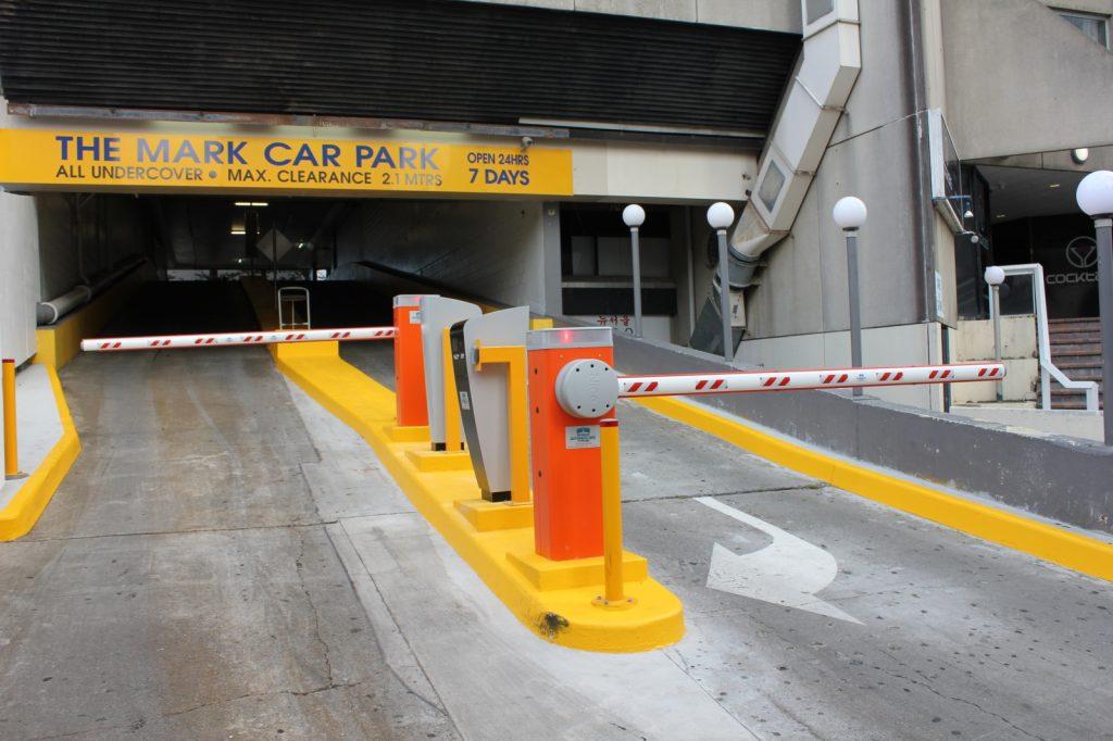 سیستم امنیتی پارکینگ